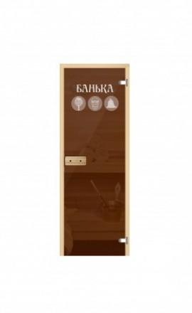 Стеклянная дверь для бани Пиктограммы
