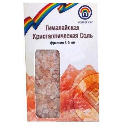 Розовая гималайская соль пищевая средний помол