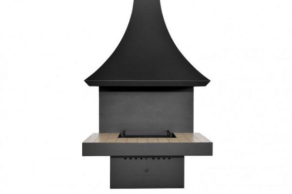 Пристенный камин на дровах Loft – 10