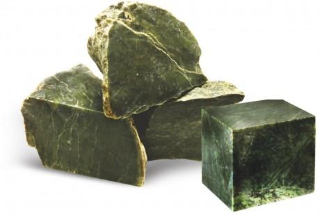 Камень для бани Нефрит колото-пиленый
