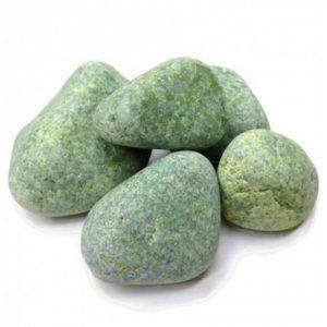 Камень для бани Жадеит (колотый) ведро - 10 кг