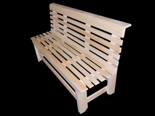 Скамейка без подлокотников, не раскладная, полок 1, 5 м