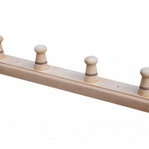 Вешалка «Баня» с 4 крючками