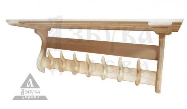 Вешалка «Прямоугольники» с 7 крючками