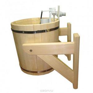 Обливное устройство Русский душ с пластиковой вставкой 20 л