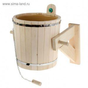 Суару құрылғысы пластикалық кірістірілген орыс душы - 18 л