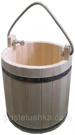 Ведро для бани 10 литров
