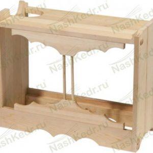 Деревянный корпус для парогенератора
