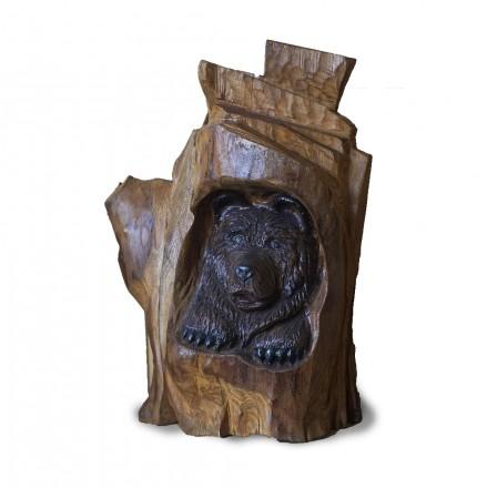 Фигурка из Ясеня «Медведь»