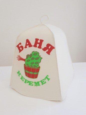 Банные шапки в ассортименте