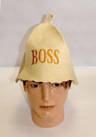 Шапка для бани Колпак - Boss