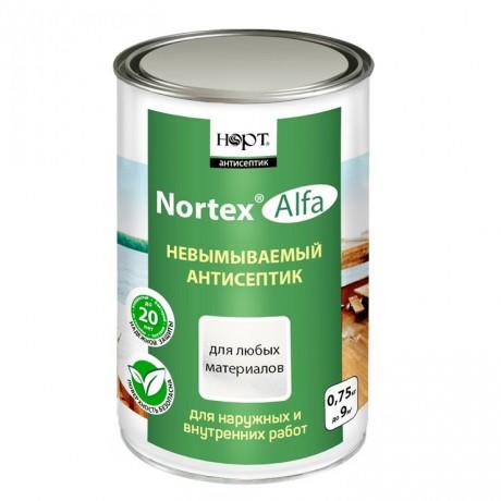 Невымываемый антисептик для дерева - Nortex Alfa