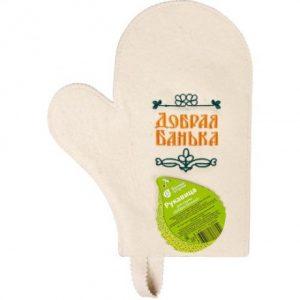 Рукавица для сауны «Добрая банька»