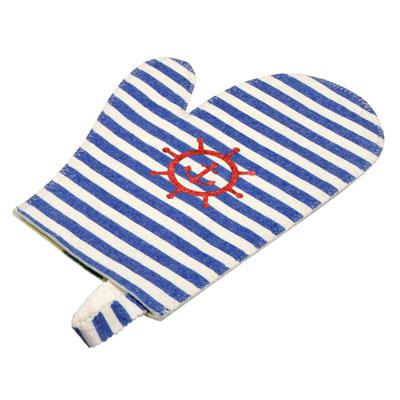 Рукавица для сауны «Морская»