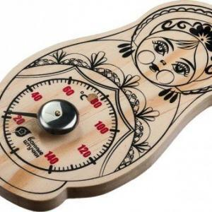 «Матрешка» термометрі