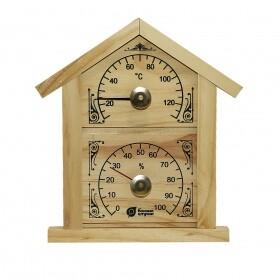 Термометр с гидрометром «Домик»