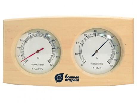Термометр с гигрометром «Банная станция» 24,5*13,5*3 см