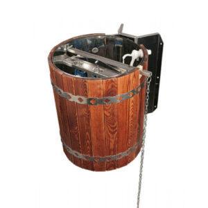 Обливное устройство для бани Ливень (обрамление – сосна)