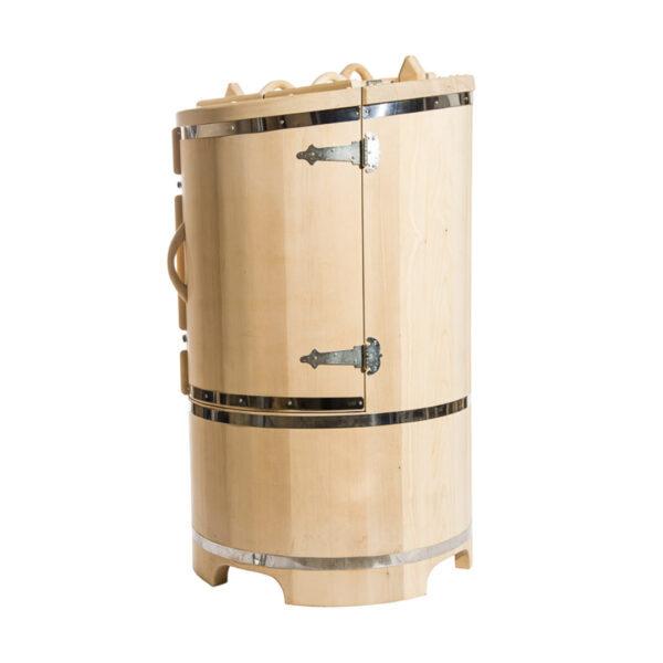 кедровая бочка со скосом 130 78 4 см 123 Круглая кедровая бочка со скосом 130*78*4 см