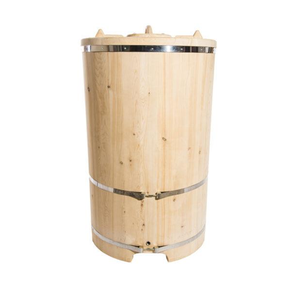 кедровая бочка – 130 78 4 см Круглая кедровая бочка – 130*78*4 см