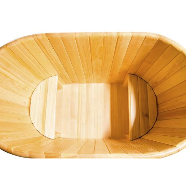 кедровая овальная 78 100 120 толщ стенки 4см 3 Овальная кедровая купель 78*100*120*4 см