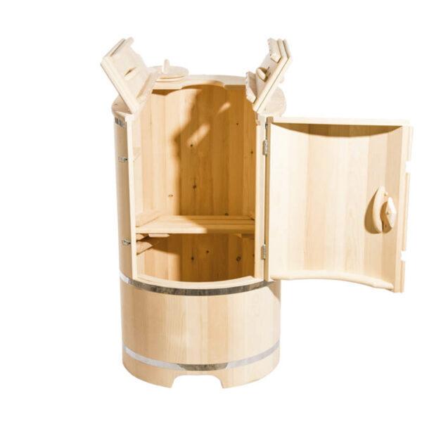ФИТОБОЧКА 1 Овальная кедровая бочка – 130*78*100* 4 см