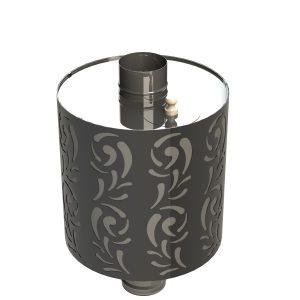 Бак на трубе Violet – 0,8 мм (50 л.) – D – 115 - Grill/D