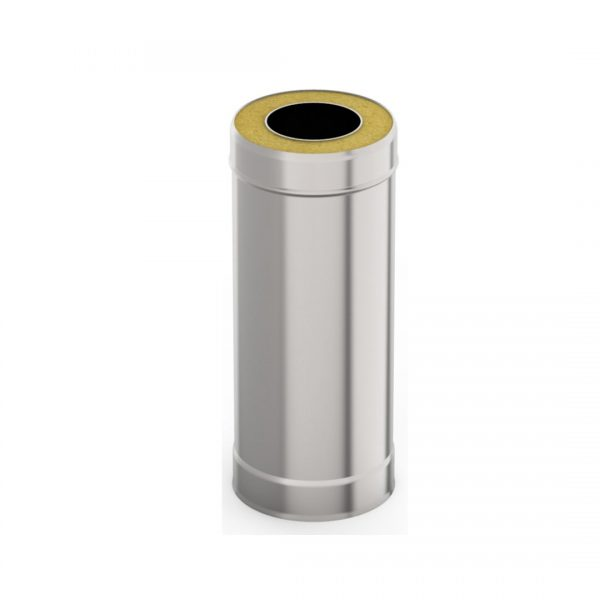 ТРУБА 1 Сэндвич-труба 1,0м, ф 130*200,Н/Оц 1,0мм/0,5мм
