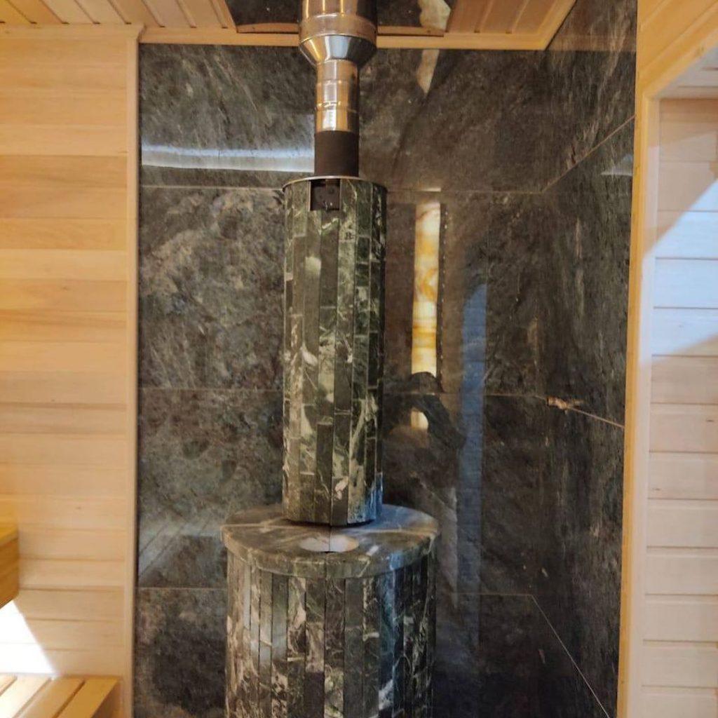под ключ полная отделка печь Vohringer4 Баня под ключ (полная отделка - печь Vohringer)