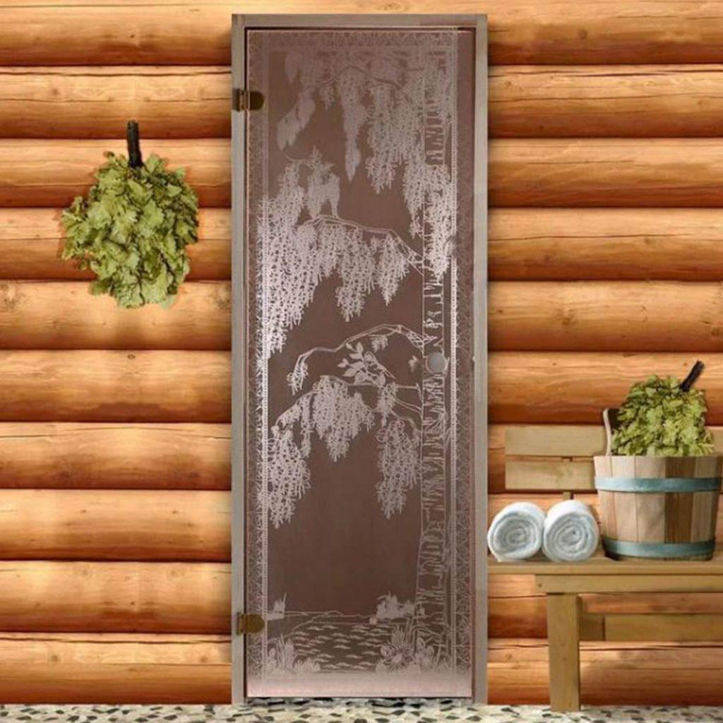 для бани главная картинка на сайт Новое поступление стеклянных дверей для бани!